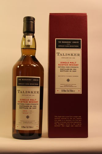 Talisker The Manager`s Choice   0,7 l