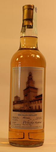 Macallan Milano Whisky Festival 16 Jahre 2006 0,7l