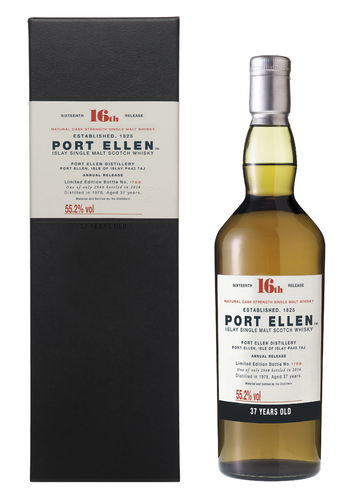 Port Ellen 37 Jahre 16th Release  0,7l