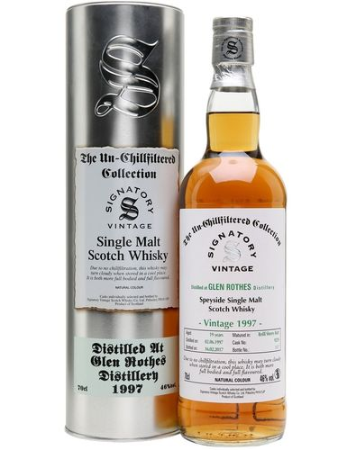Signatory Glen Rothes 1997  21y  0,7l