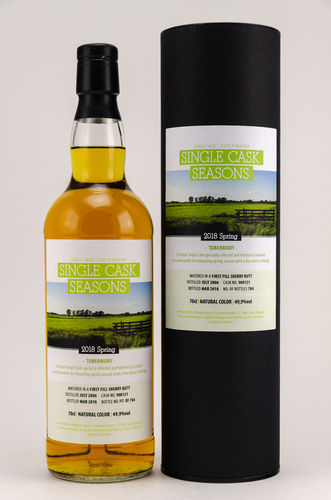 Tobermory 2006/2018 Signatory Single Cask Seasons    0,7l
