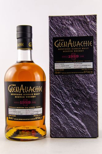 GlenAllachie Single Cask 1989/2018 Sherry Butt  0,7l