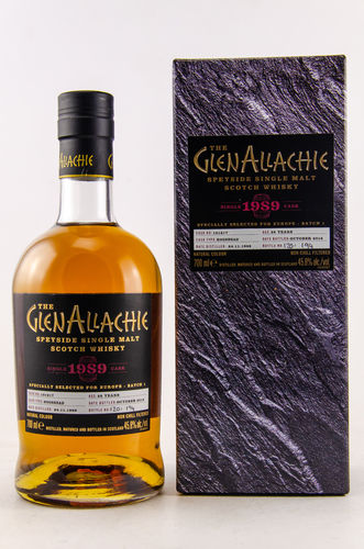 GlenAllachie Single Cask 1989/2018 Hogshead  0,7l