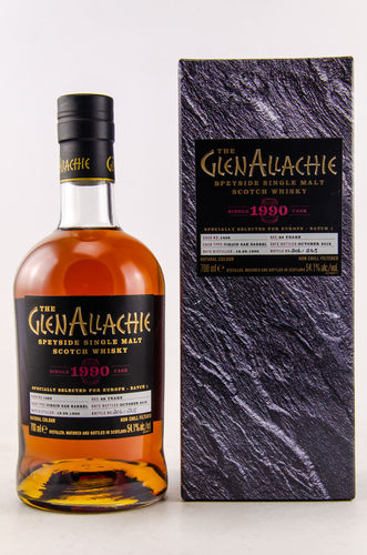 GlenAllachie Single Cask 1990/2018 Virgin Oak  0,7l