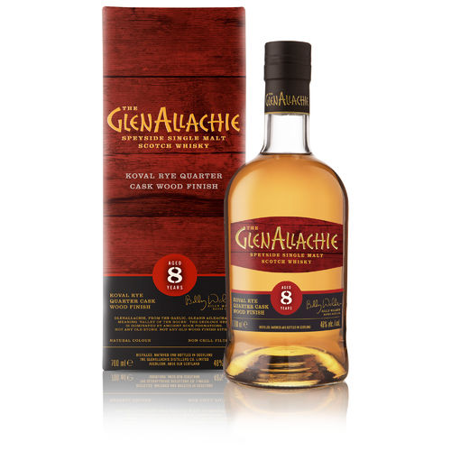 GlenAllachie 8 Jahre Koval Rye Finish  Wood Finish Series  0,7l