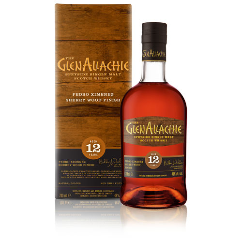 GlenAllachie 12 Jahre Pedro Ximenez Finish  Wood Finish Series  0,7l