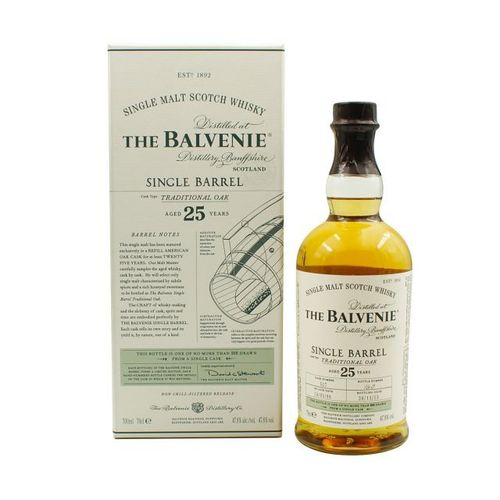 Balvenie 25y Single Barrel Traditional Oak
