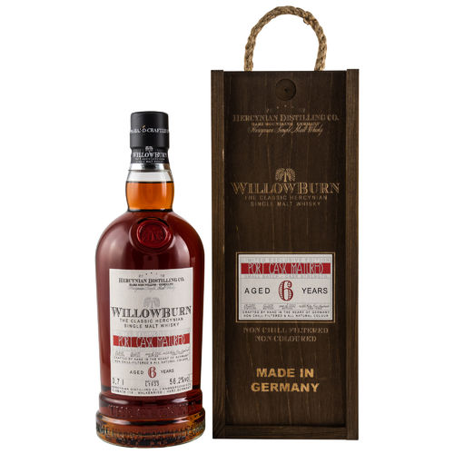 WillowBurn Limited Exclusive Edition Port Cask Matured 6 y.o. CS - 56,2%vol. 0,7l