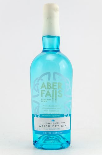 Aber Falls Welsh Dry Gin Copper Disitilled  0,7l