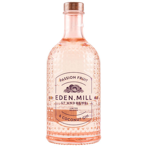 Eden Mill Passion Fruit & Coconut Gin  0,5l