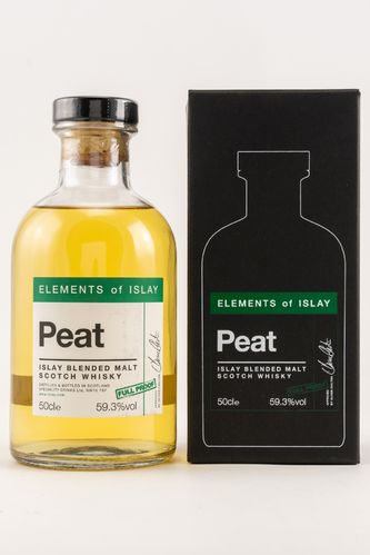Elements of Islay Peat Pure Islay 59,3% 0,5l