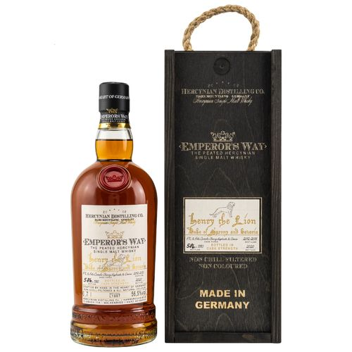 Emperors Way Henry the Lion PX & Palo Cortado Sherry Cask III Release 56,5% 0,7l