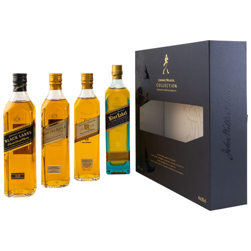 Johnnie Walker Collection Set 4 x 0,2l