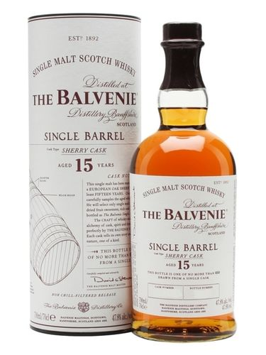 Balvenie 15y Single Barrel Sherry Cask 0,7l