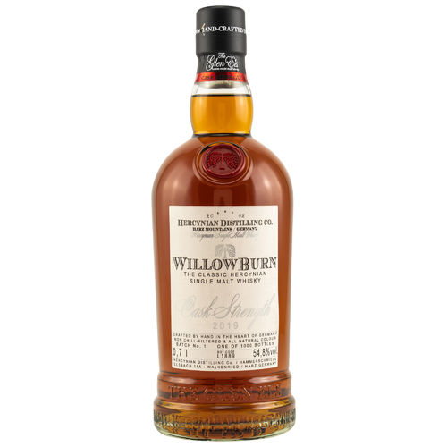 Willowburn Cask Strenght 2019 54,8% 0,7l