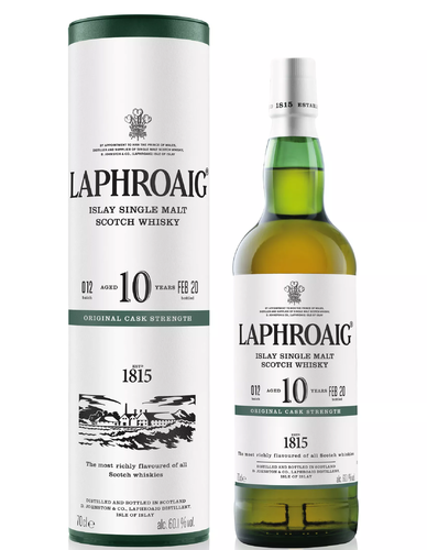 Laphroaig 10y 2020 Batch 12 60,1% Vol 0,7l