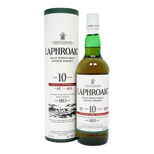 Laphroaig 10y 2018 Batch 10 58,0% Vol 0,7l