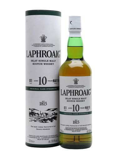 Laphroaig 10y 2019 Batch 11 58,6% Vol 0,7l