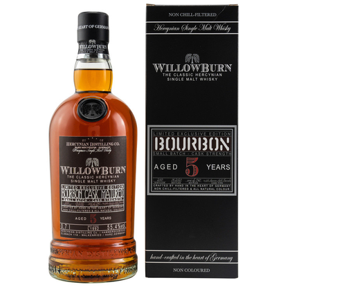 Willowburn 5y Bourbon Cask Matured 2020 55,4% 0,7l