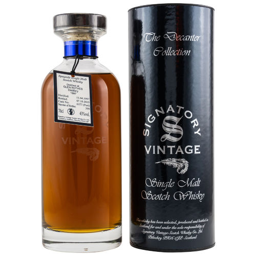 Signatory Glenrothes 22y Ibisco Decanter Cask #6377 43,0% 0,7l
