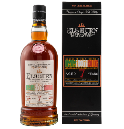 Elsburn Italian Connection 2021 7y 55,5% Vol 0,7l